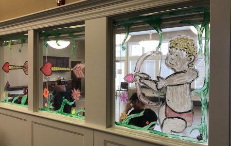 Art Students Make Community Service Trip to Highland Pointe