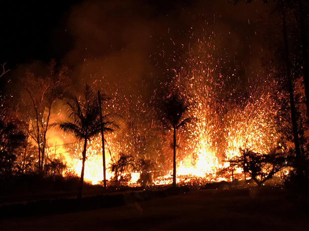 A+new+fissure+spraying+lava+fountains+as+high+as+about+230+feet+%2870+m%29%2C+according+to+United+States+Geological+Survey%2C+is+shown+from+Luana+Street+in+Leilani+Estates+subdivision+on+Kilauea+Volcano%27s+lower+East+Rift+Zone+in+Hawaii%2C+U.S.%2C+May+5%2C+2018.++Photo+taken+May+5%2C+2018.++US+Geological+Survey%2FHandout+via+REUTERS++ATTENTION+EDITORS+-+THIS+IMAGE+WAS+PROVIDED+BY+A+THIRD+PARTY.