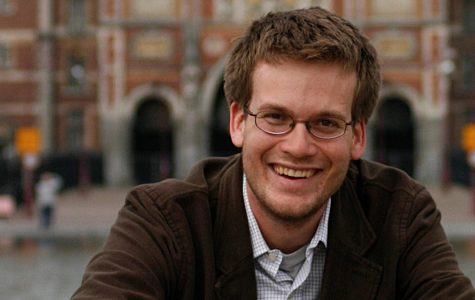 Best-selling author John Green