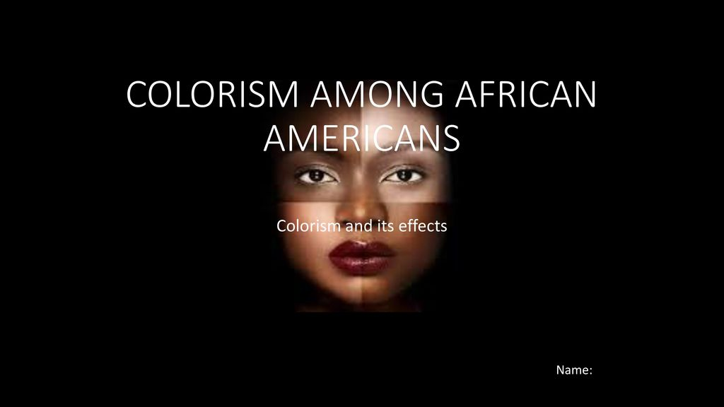 Colorism: 50 shades of discrimination – The Wildcat Voice