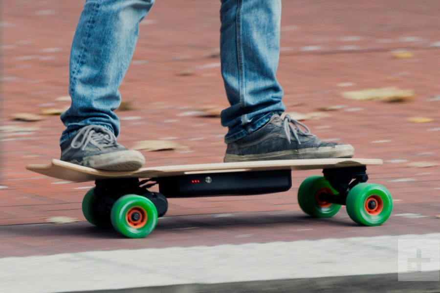 The invention of the electric skateboard
