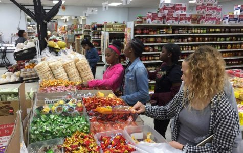 Sixth graders experience Cleveland's cultural markets on annual field trip