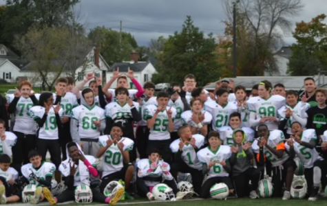 Eighth-grade football team finishes the season undefeated
