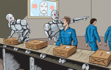 Robots taking human jobs