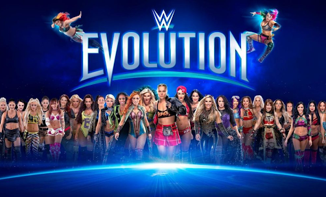 "WWE holds its first all-women's pay per view, ""Evolution"""