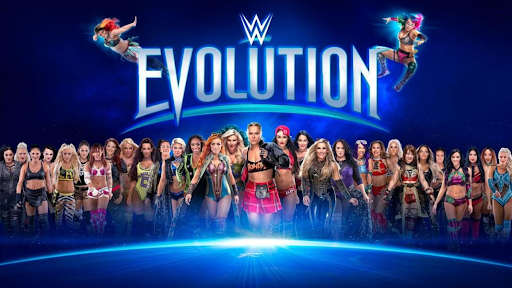 """WWE holds its first all-women's pay per view, """"Evolution"""""""