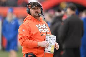The Cleveland Browns names new head coach, Freddie Kitchens