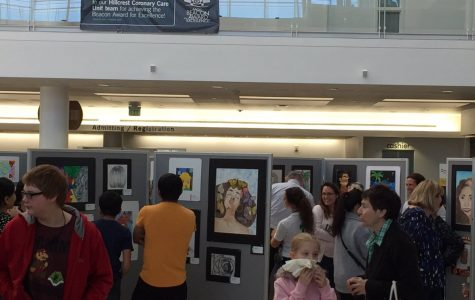 Upcoming art show displays the work of Mayfield students