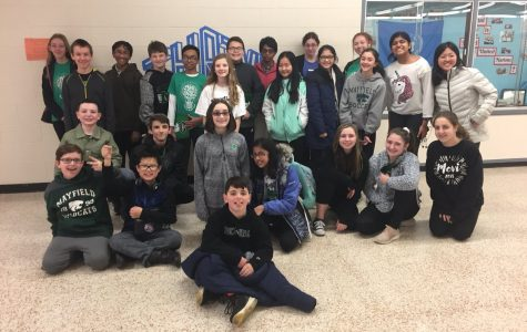 Mayfield Middle School Science Olympiad places 8th at Northeastern Regionals