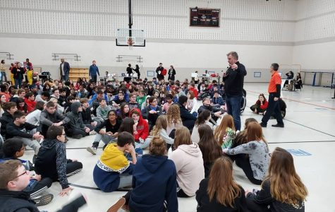 8th graders visit Orange High School to learn about Excel TECC
