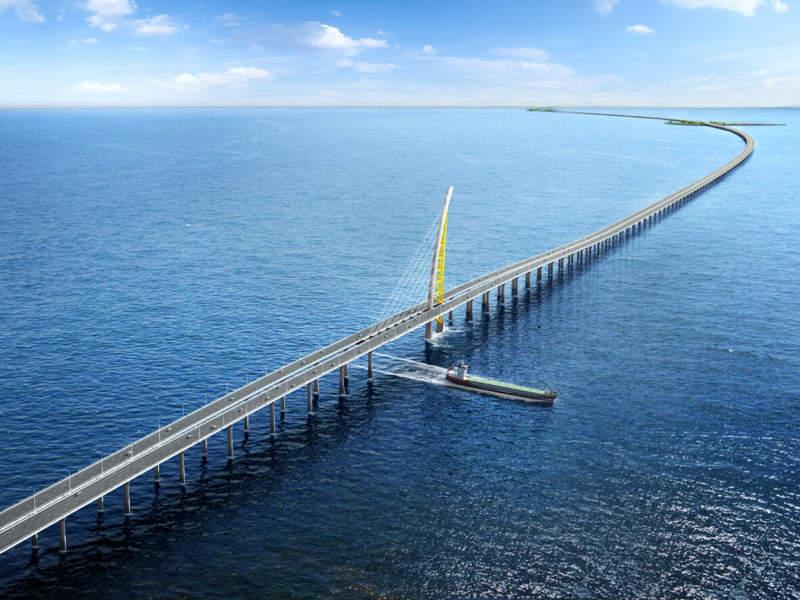 The Sheikh Jaber Al-Ahmad Al-Sabah Causeway
