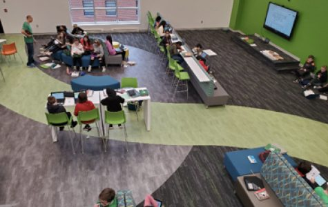 MMS new upper learning space