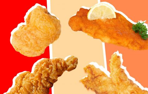 Chicken nuggets vs. chicken tenders