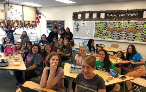 Teacher shares love of Disney with weekly lunch bunch