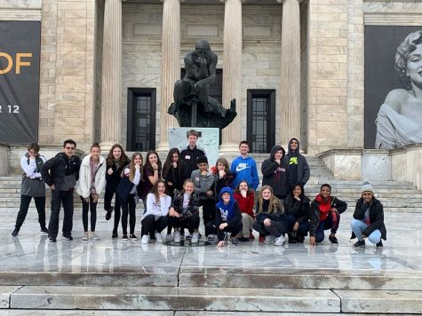 French field trip to Luna Bakery and the Cleveland Art Museum