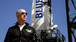 Billionaires in space? : Bezos spends $5.5 billion on an 11 minute flight