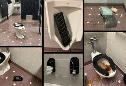 Bathrooms vandalized due to recent TikTok trend
